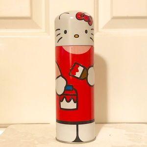 """Hello Kitty storage art & office supplies tin. 8"""""""
